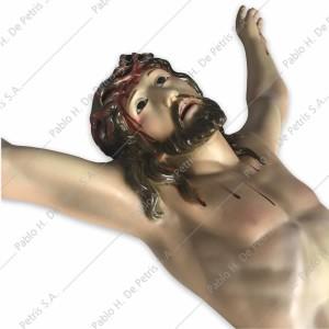 A279 Cristo en agonía-80 cm- Imagen Española