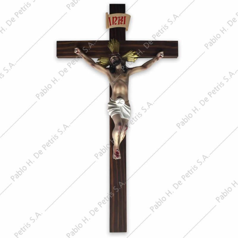 A279 Cristo en agonía con cruz-30 cm - Imagen Española