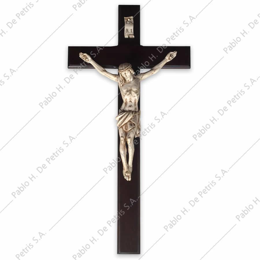 1093 Cristo muerto con cruz-40 cm - Imagen Italiana