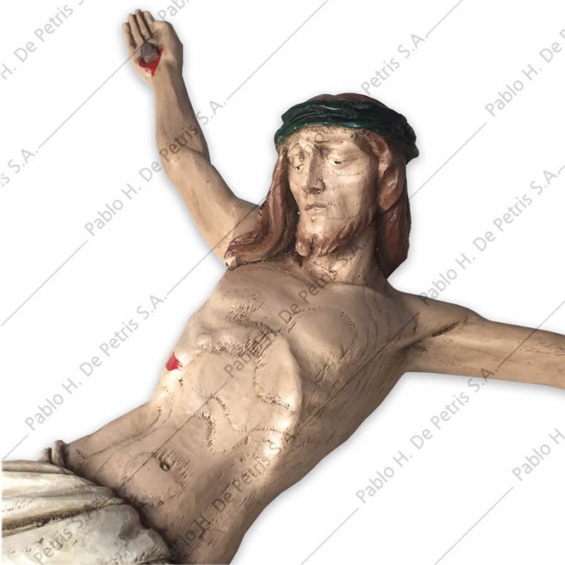 1187 Cristo en agonía-40 cm - Imagen Italiana