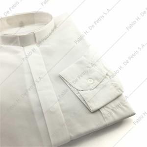 7757-Blanco - Camisa manga larga