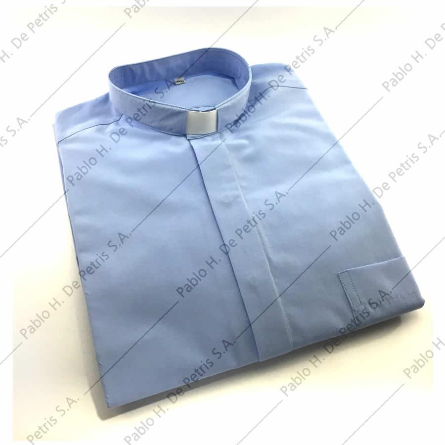 7757-7762-Celeste - Camisa manga larga