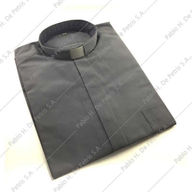 7757-7762-Gris - Camisa manga larga