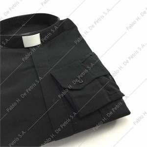 7757-Negro - Camisa manga larga