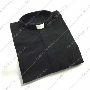 7757-7762-Negro - Camisa manga larga