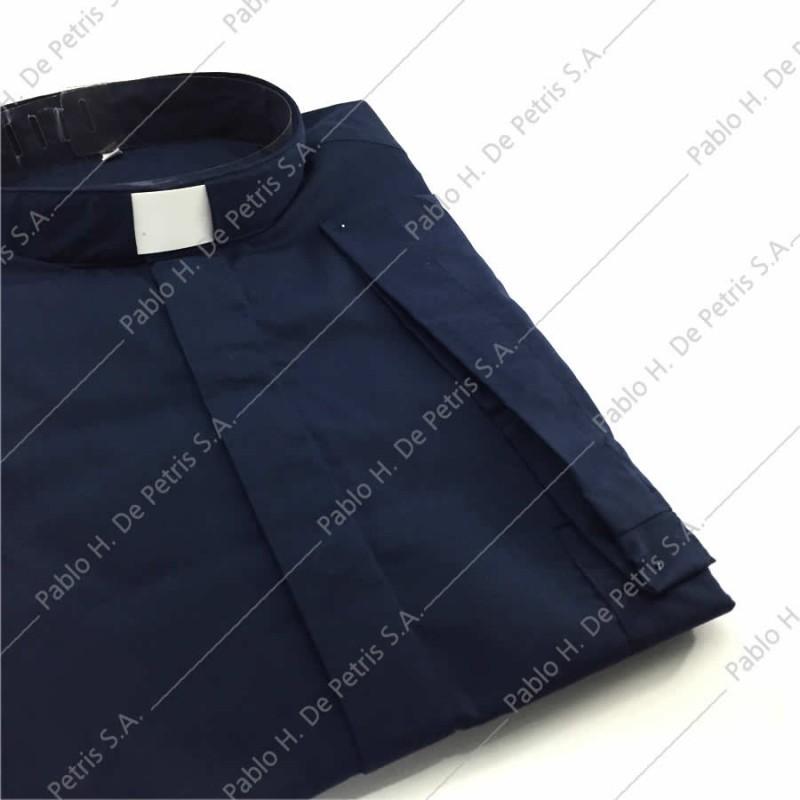 7762-Azul - Camisa manga corta