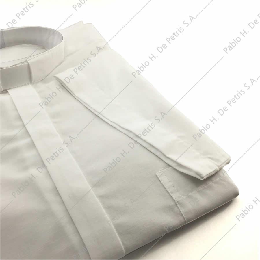 7762-Blanco - Camisa manga corta