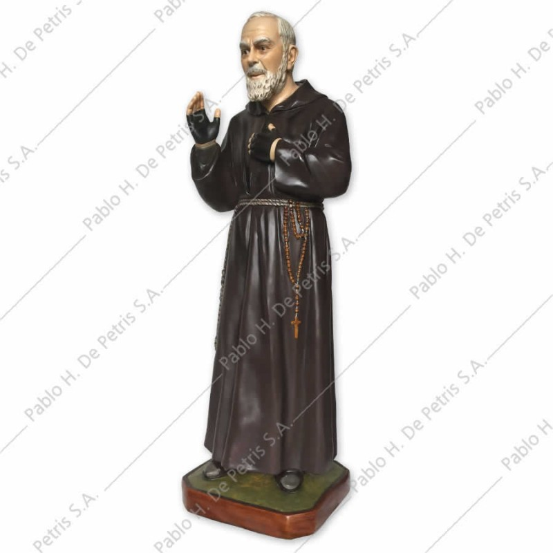 0769 Padre Pío - Imagen Italiana para exterior