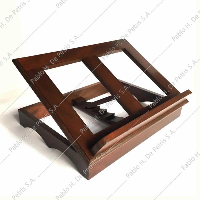 atril madera